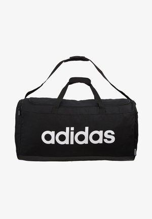 LIN DUFFLE L - Sports bag - black/white