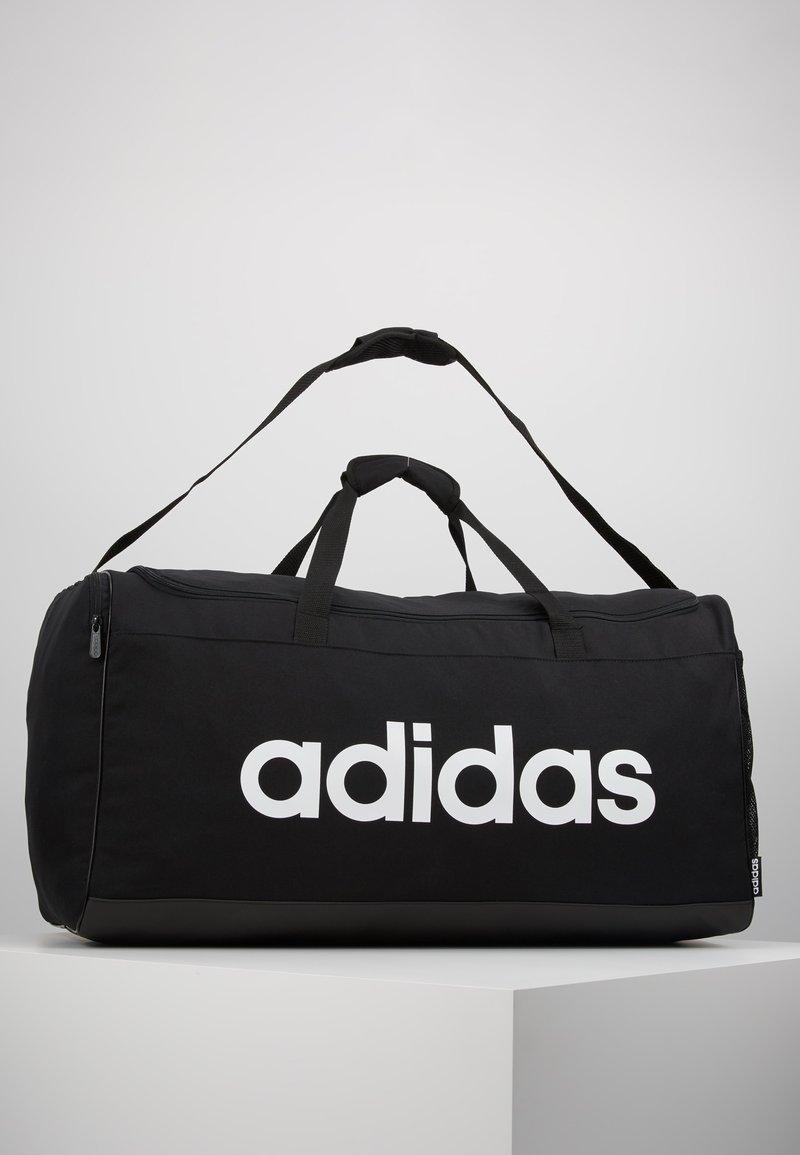 adidas Performance - LIN DUFFLE L - Sportovní taška - black/white