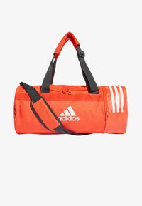 adidas Performance - Convertible 3-Stripes Duffel Bag Small - Sportväska - orange - 0