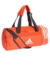 adidas Performance - Convertible 3-Stripes Duffel Bag Small - Sportväska - orange - 3