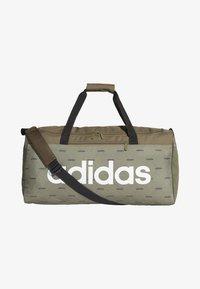 adidas Performance - LINEAR DUFFEL BAG - Reiseveske - brown - 0