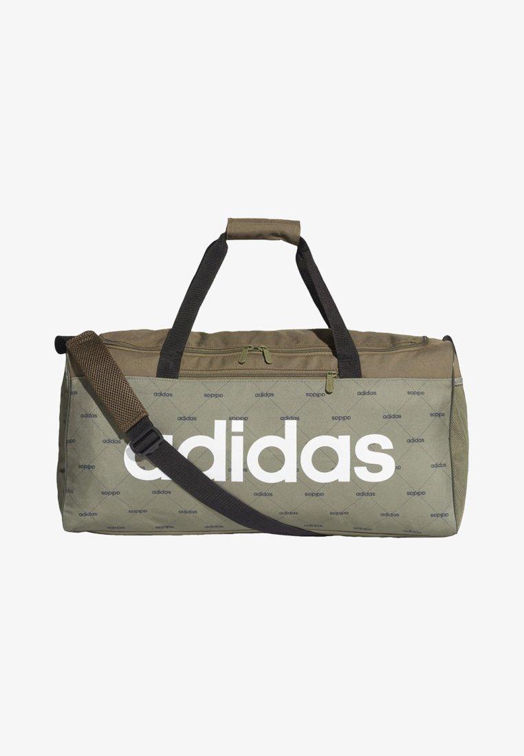 adidas Performance - LINEAR DUFFEL BAG - Reiseveske - brown