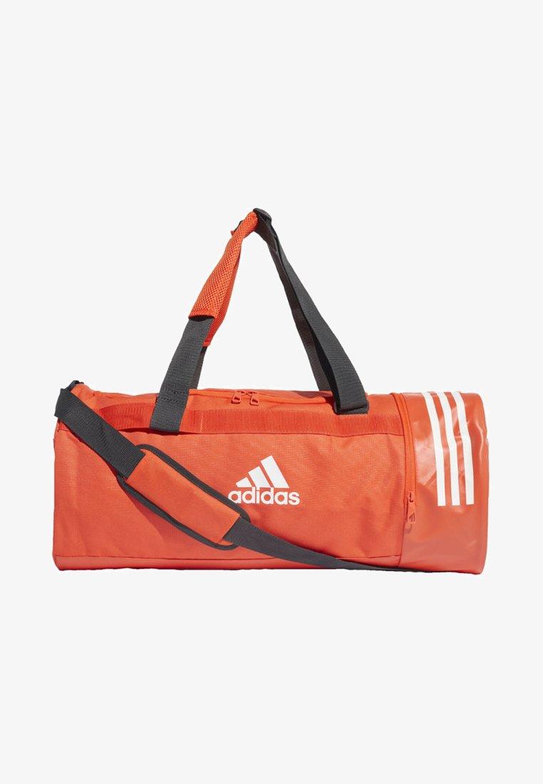 adidas Performance - CONVERTIBLE 3-STRIPES DUFFEL BAG MEDIUM - Sporttasche - orange