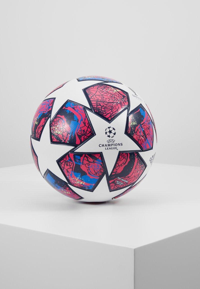 adidas Performance - FIN IST - Piłka do piłki nożnej - white/panton/glow blue