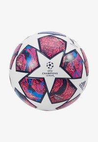 adidas Performance - FIN IST - Piłka do piłki nożnej - white/panton/glow blue - 3