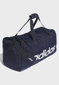 adidas Performance - LINEAR DUFFEL BAG - Torba sportowa - blue - 2