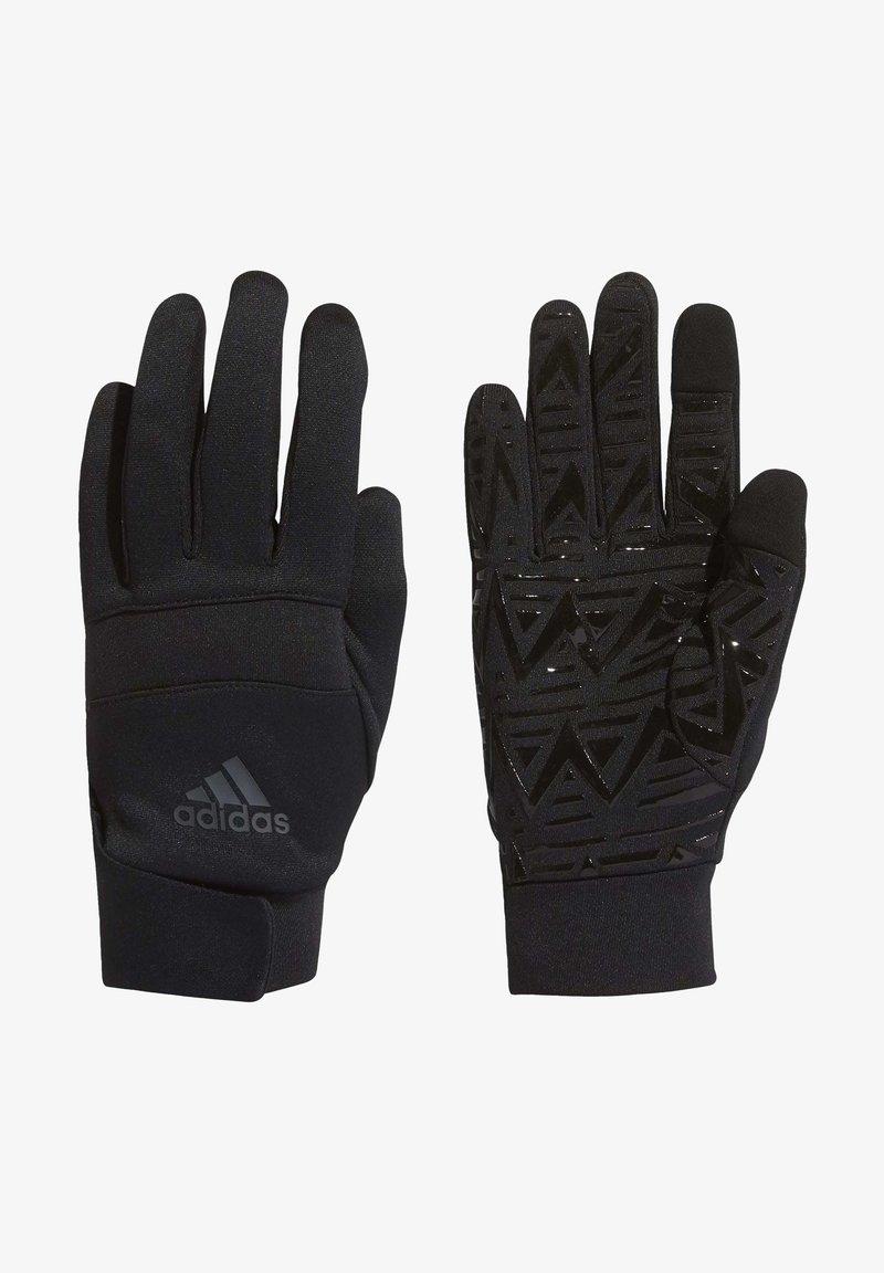 adidas Performance - FOOTBALL STREET GLOVES - Gloves - black