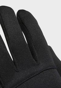 adidas Performance - FOOTBALL STREET GLOVES - Gloves - black - 3
