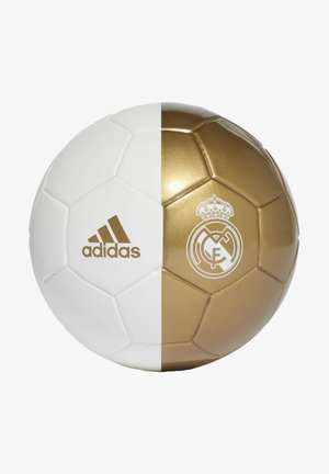 REAL MADRID MINI FOOTBALL - Fodbolde - white/gold