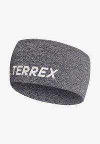 adidas Performance - TERREX TRAIL HEADBAND - Cache-oreilles - grey - 0