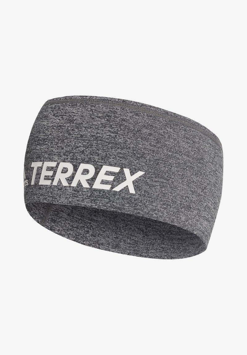adidas Performance - TERREX TRAIL HEADBAND - Cache-oreilles - grey