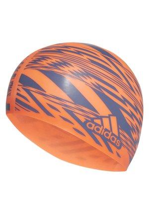 TOKYO GRAPHIC SWIM CAP - Swimming accessory - orange