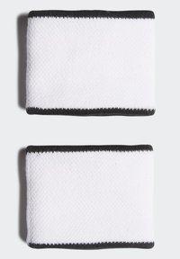 adidas Performance - TENNIS WRISTBAND SMALL - Sweatband - white - 1