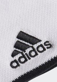 adidas Performance - TENNIS WRISTBAND SMALL - Sweatband - white - 4
