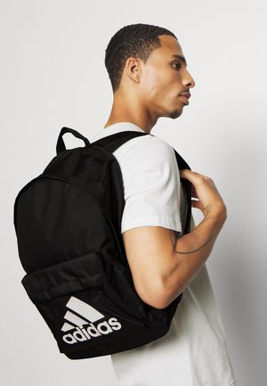 CLASSIC BACK TO SCHOOL SPORTS BACKPACK UNISEX - Reppu - black/white