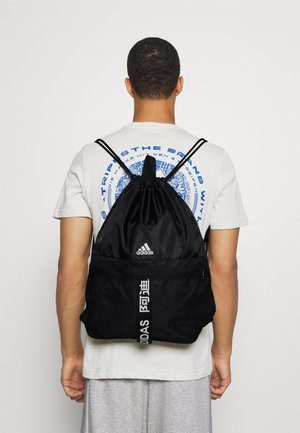 3 STRIPES TRAINING SPORTS GYM SACK UNISEX - Sportovní taška - black/black/white