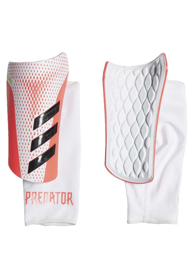 PREDATOR 20 LEAGUE SHIN GUARDS - Scheenbeschermers - white