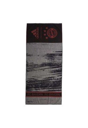 FC BAYERN MUNICH COTTON TOWEL - Handdoek - black