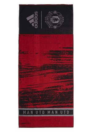 MANCHESTER UNITED COTTON TOWEL - Handdoek - black