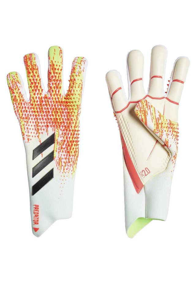 PREDATOR 20 PRO GOALKEEPER GLOVES - Fingervantar - white