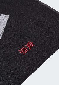 adidas Performance - GRAPHIC COTTON TOWEL - Handdoek - black - 4