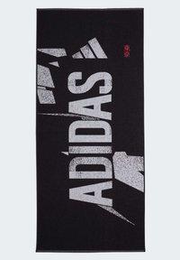 adidas Performance - GRAPHIC COTTON TOWEL - Handdoek - black - 2
