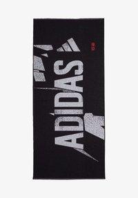 adidas Performance - GRAPHIC COTTON TOWEL - Handdoek - black - 0