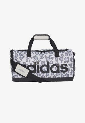LINEAR LEOPARD DUFFEL BAG SMALL - Sports bag - grey