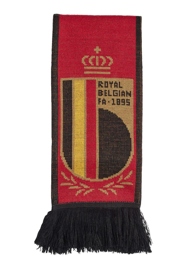 BELGIUM HOME SCARF - Sjal - red