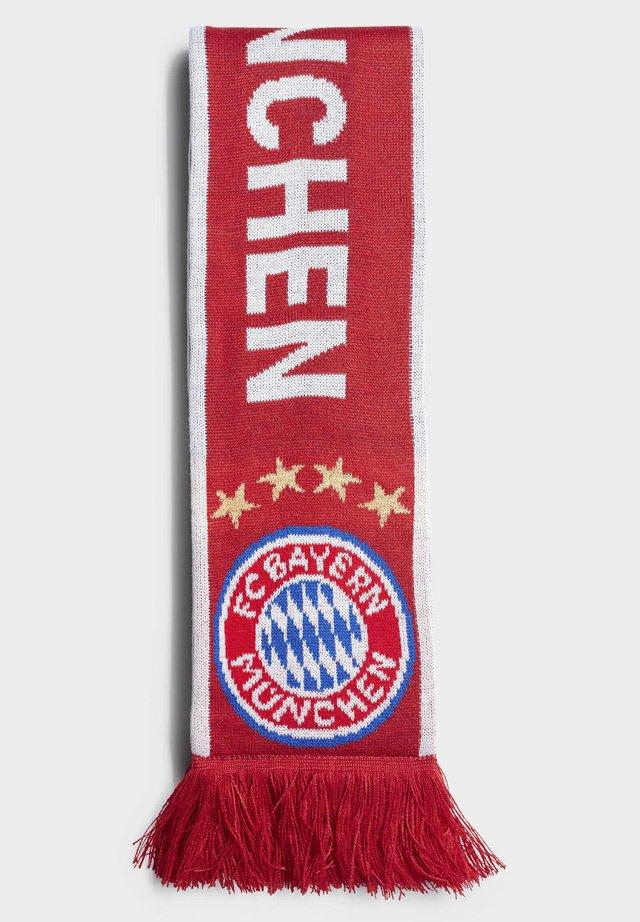 FC BAYERN SCARF - Scarf - red