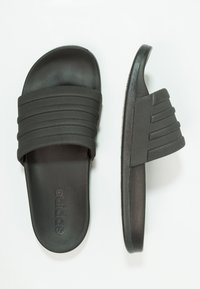 adidas Performance - ADILETTE MONO - Pool slides - core black - 1
