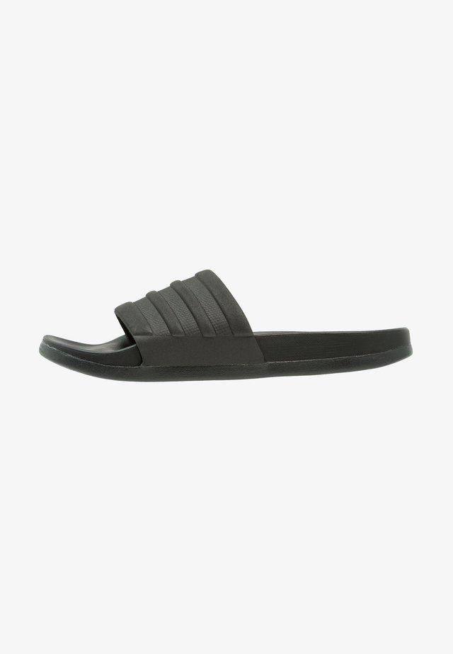 ADILETTE MONO - Sandały kąpielowe - core black