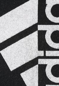 adidas Performance - TOWEL L - Asciugamano - black/white - 1