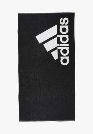 TOWEL L - Handdoek - black/white