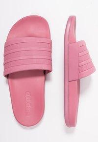 adidas Performance - ADILETTE CF - Sandály do bazénu - trace maroon - 1