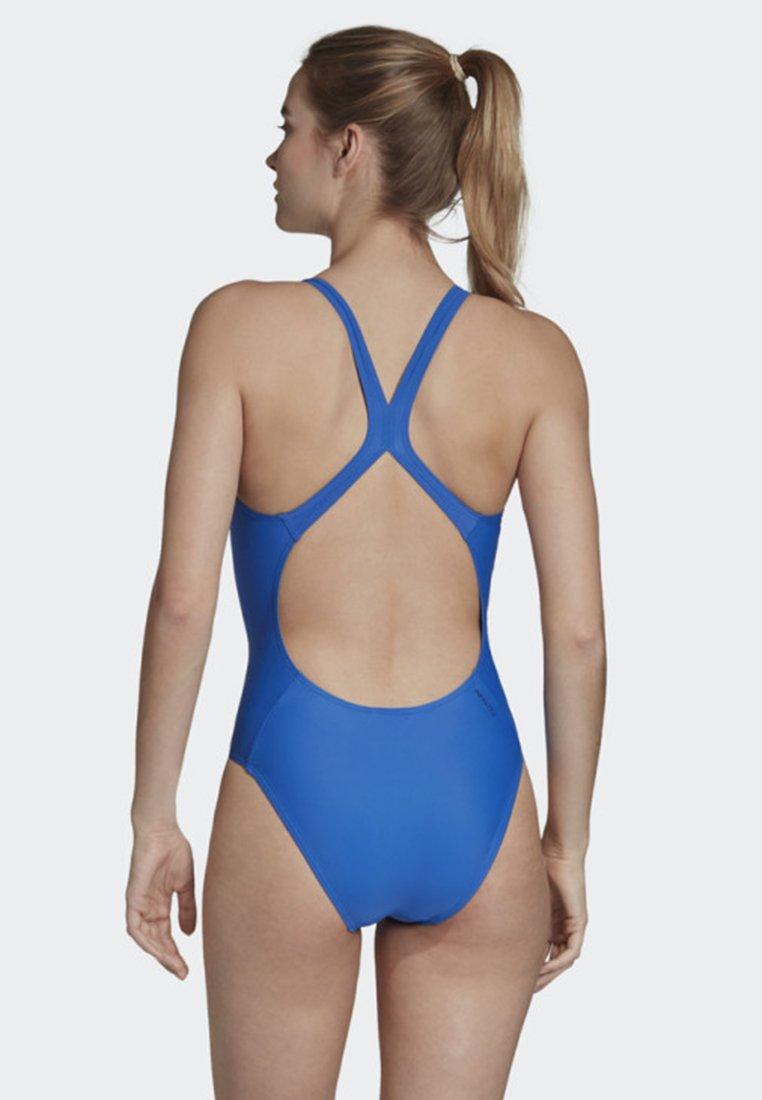 adidas Performance ATHLY V SOLID SWIMSUIT - Badeanzug blue