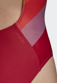 adidas Performance - ATHLY LIGHT GRAPHIC SWIMSUIT - Swimsuit - red - 7