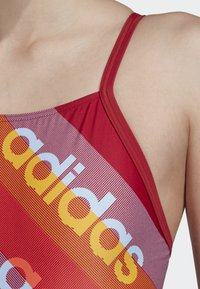adidas Performance - ATHLY LIGHT GRAPHIC SWIMSUIT - Swimsuit - red - 6
