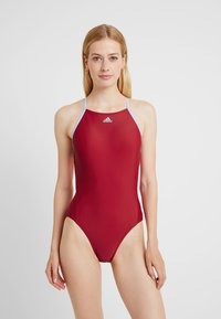 adidas Performance - FIT SUIT - Swimsuit - actmar/globlu - 1