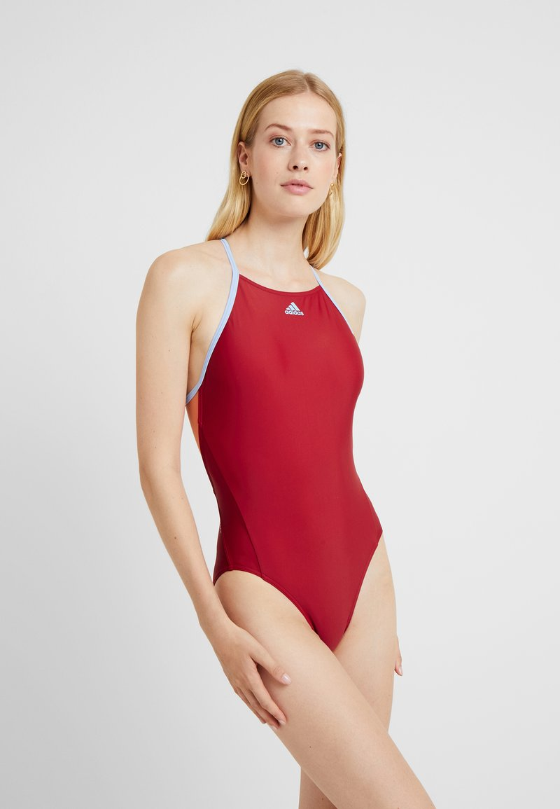 adidas Performance - FIT SUIT - Swimsuit - actmar/globlu