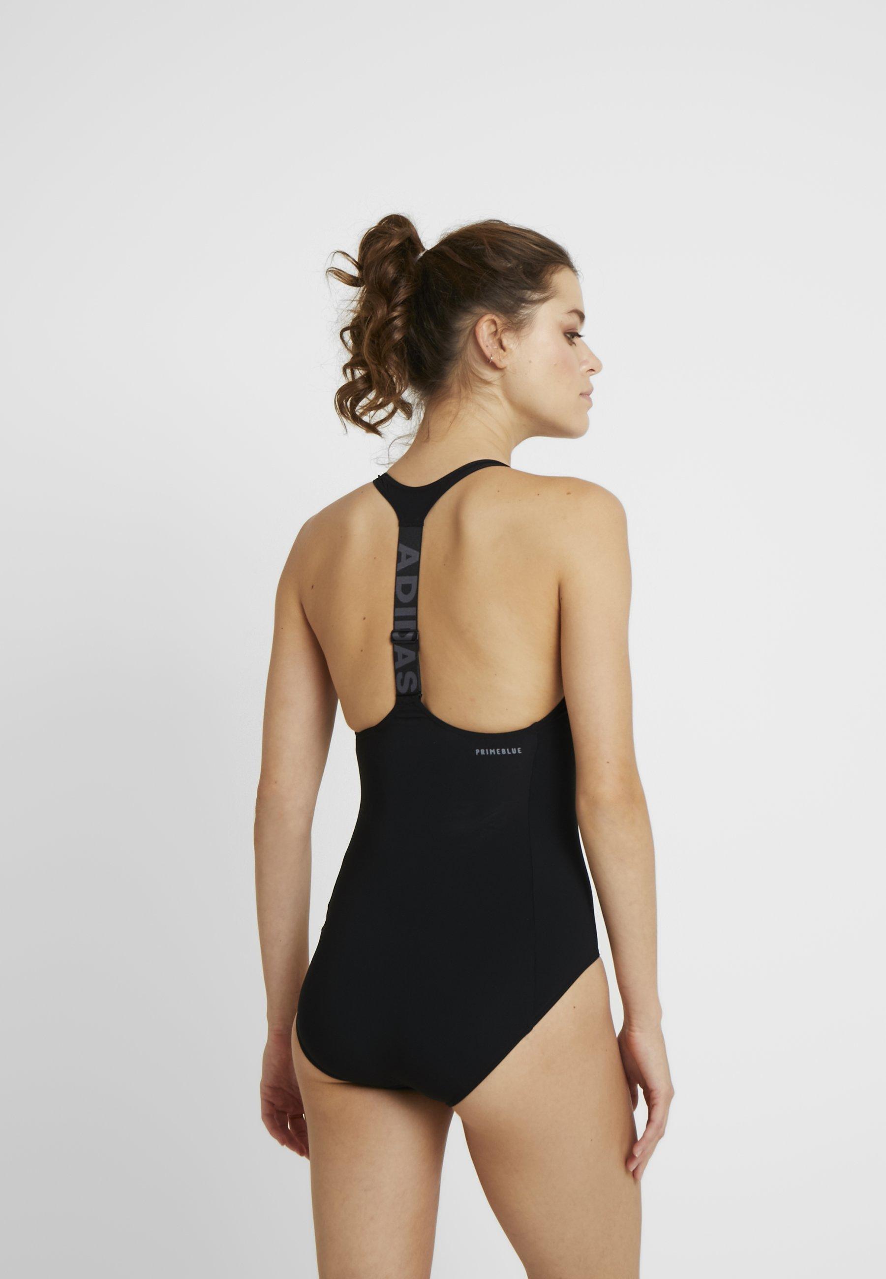 adidas Performance Badeanzug - black/gresix