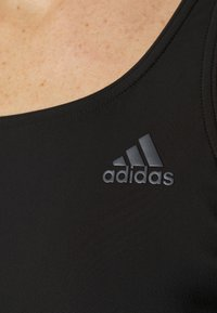adidas Performance - FIT LEGSUIT - Bañador - black/white - 4