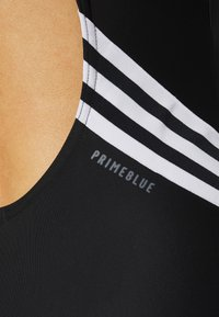 adidas Performance - FIT LEGSUIT - Bañador - black/white - 6