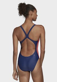 adidas Performance - ATHLY V 3-STRIPES SWIMSUIT - Maillot de bain - tech indigo - 1