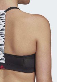 adidas Performance - ALL ME SWIM TOP - Bikinitopp - black - 6