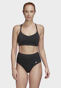 adidas Performance - ALL ME SWIM TOP - Bikinitopp - black - 4