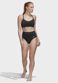 adidas Performance - ALL ME SWIM TOP - Bikinitopp - black - 1