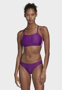 adidas Performance - 3-STRIPES BIKINI - Bikini - purple - 0