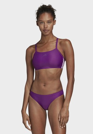 3-STRIPES BIKINI - Bikini - purple