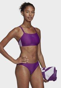 adidas Performance - 3-STRIPES BIKINI - Bikini - purple - 1